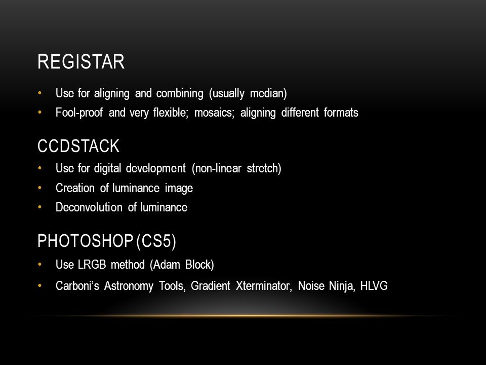 DSLR AstrophotograpHy…  My way - ppt video online download