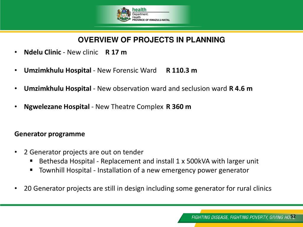KWAZULU-NATAL Portfolio Committee on Health 18th August ppt download