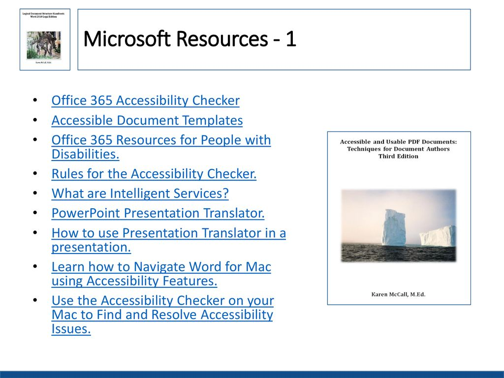 Office 365 Accessibility Features Ppt Download