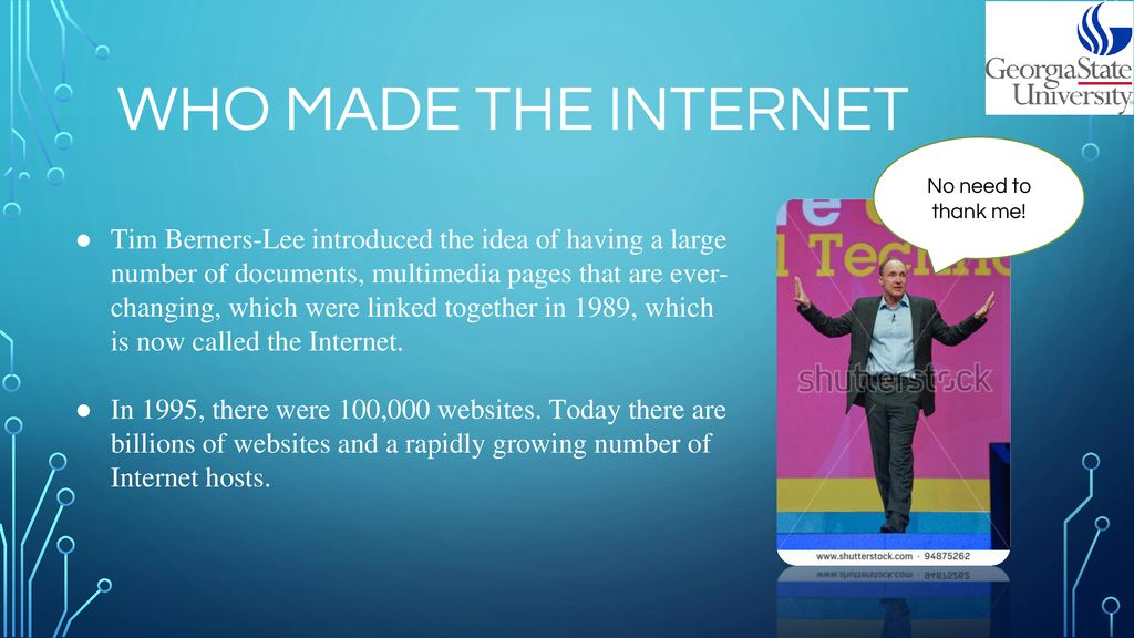 Internet And The World Wide Web Ppt Download