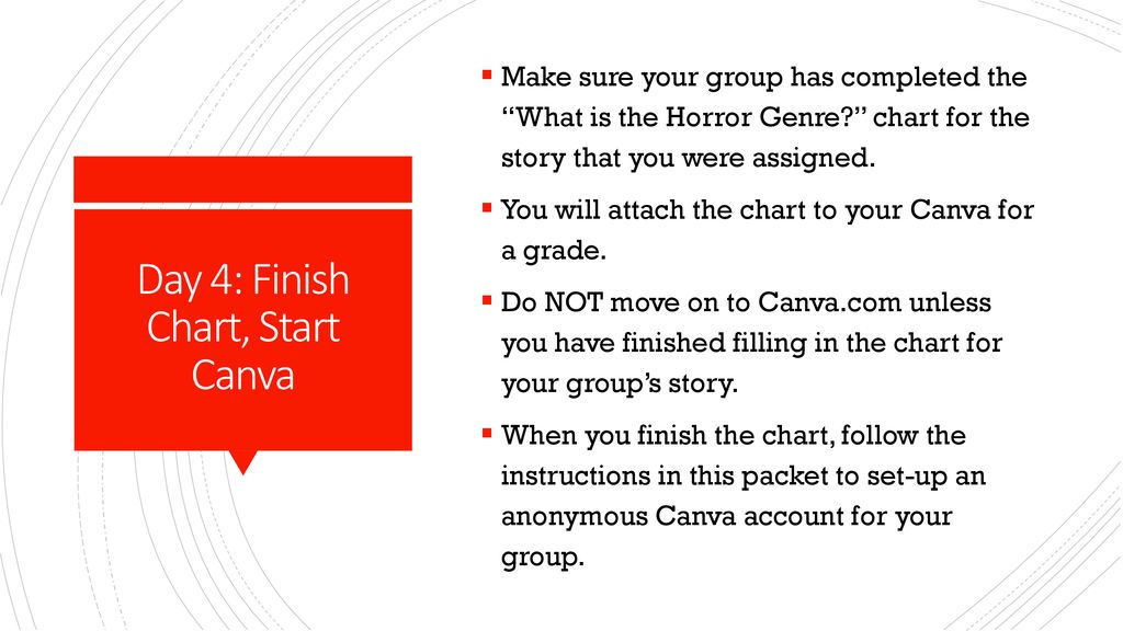 What is the Horror Genre? - ppt download