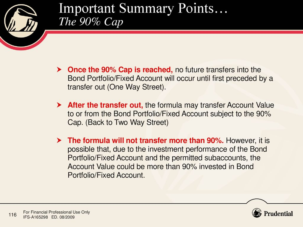 Prudential investment backed annuity formula tax effective investments ukm