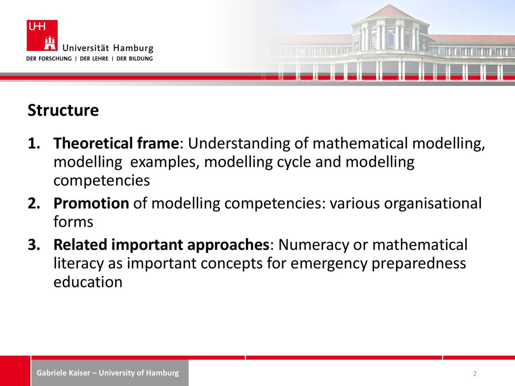 Preparing for the future: the role of mathematical modelling