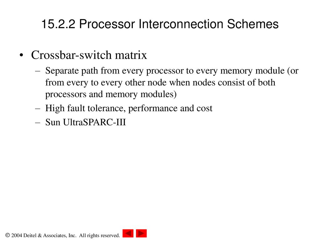 Chapter 15 Multiprocessor Management Ppt Download Matrix Or Crossbar Switching 10 1522 Processor Interconnection Schemes Switch