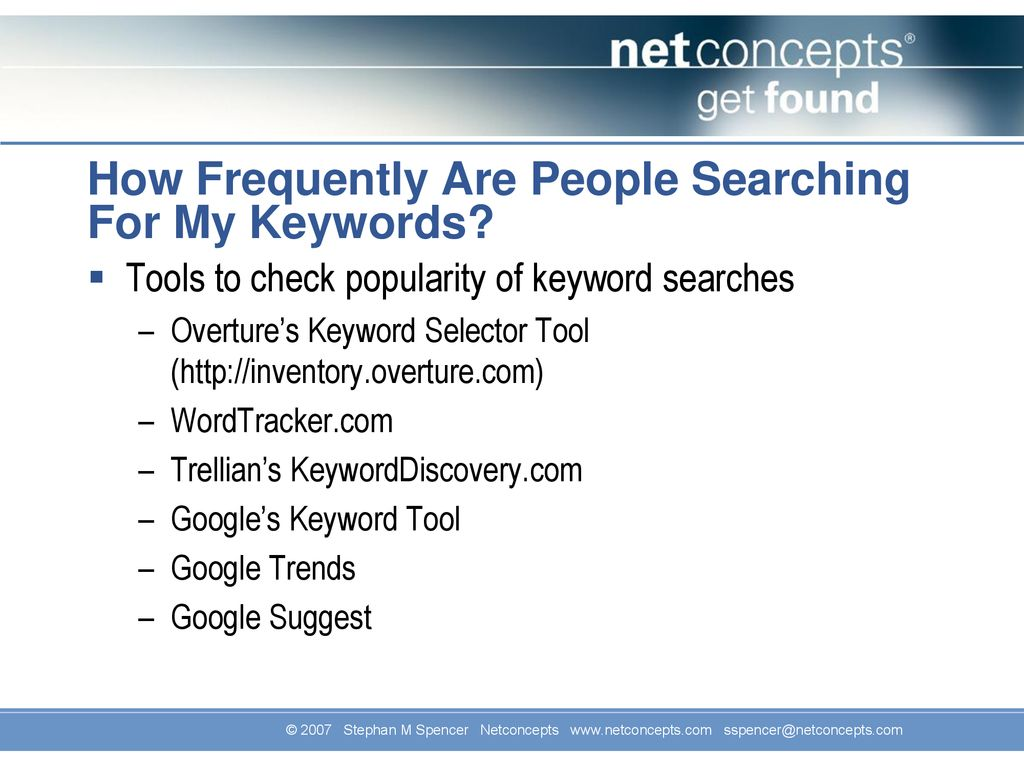 7 Secrets to High Google Rankings: - ppt download