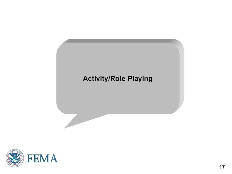 Activity/Role Playing