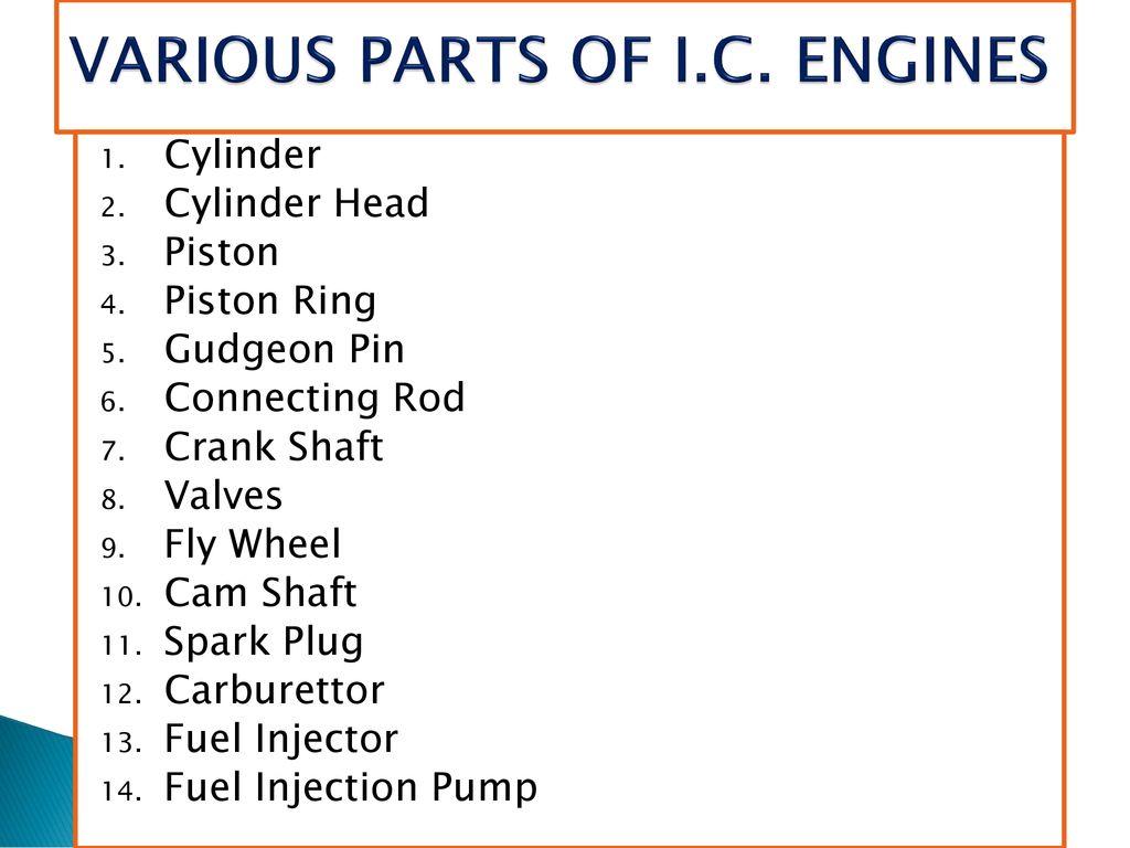 I C  ENGINES  - ppt download