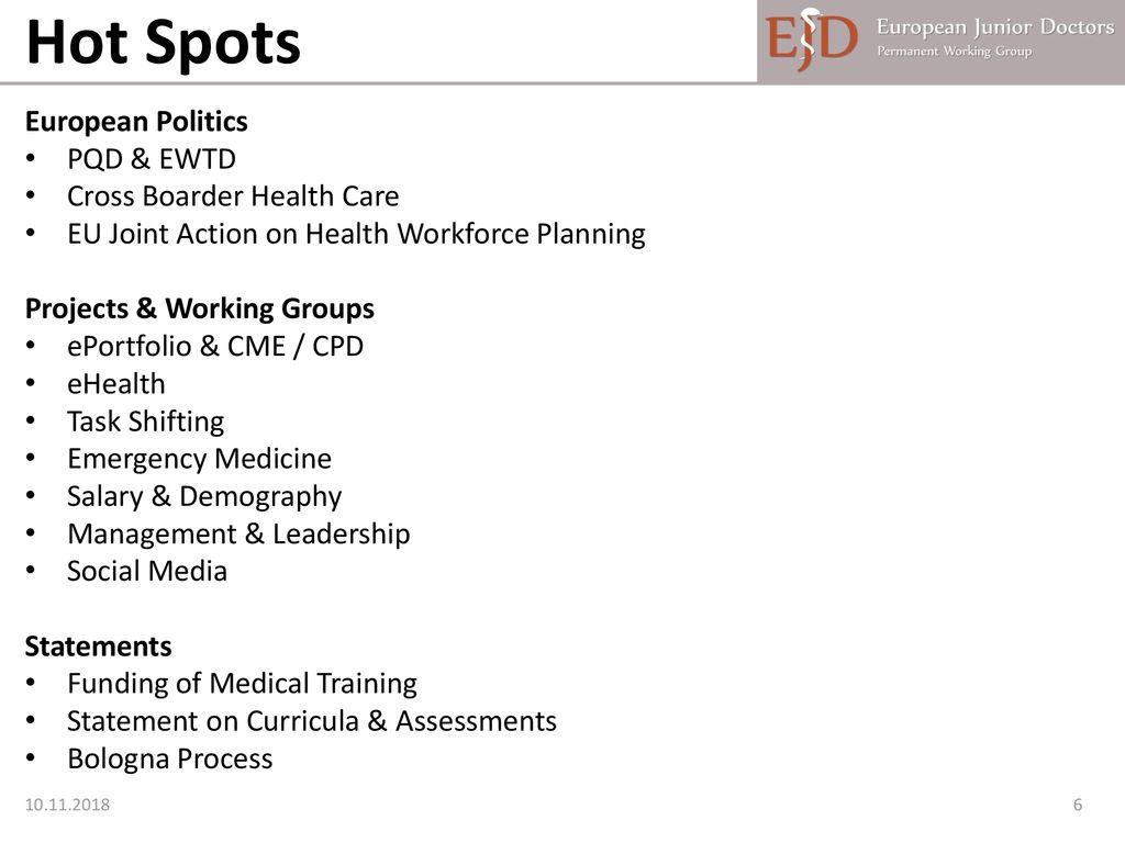 European Junior Doctors - ppt download