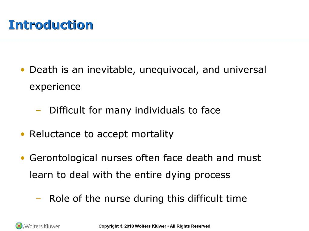 Chapter 36 End Of Life Care Ppt Download