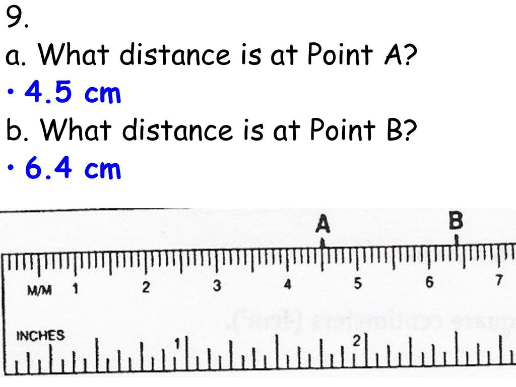 4.5 Cm To Inches / How many centimeters is 5 feet 4 inches?