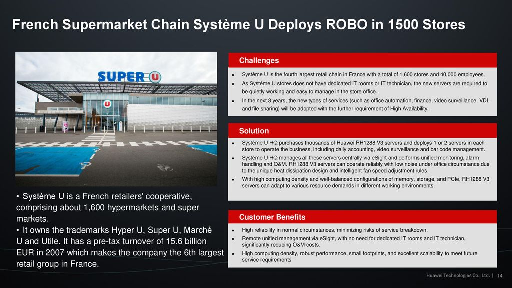 Huawei Smart Retail Solution - ppt download