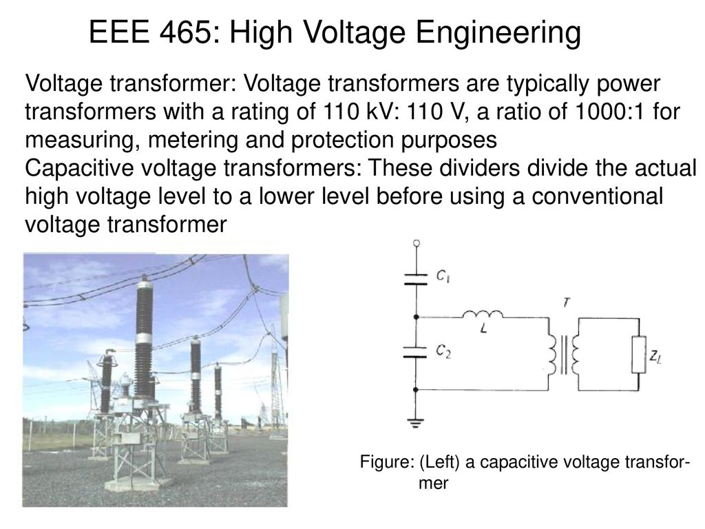 High Voltage Transformer Diagram