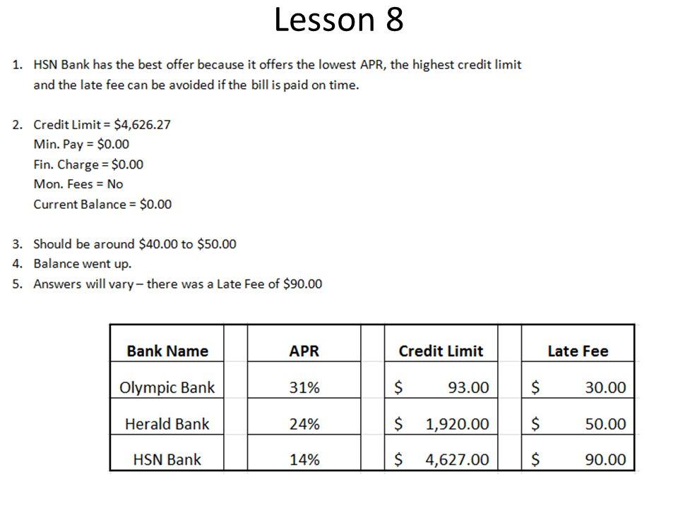 12 Lesson 8