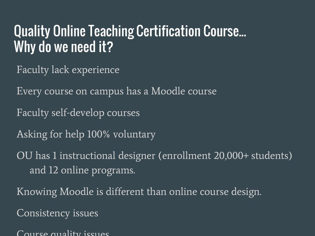 Planning And Implementation Of Faculty Online Course Training Ppt
