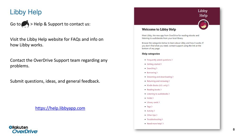 Getting started With Libby, you can browse, borrow, and