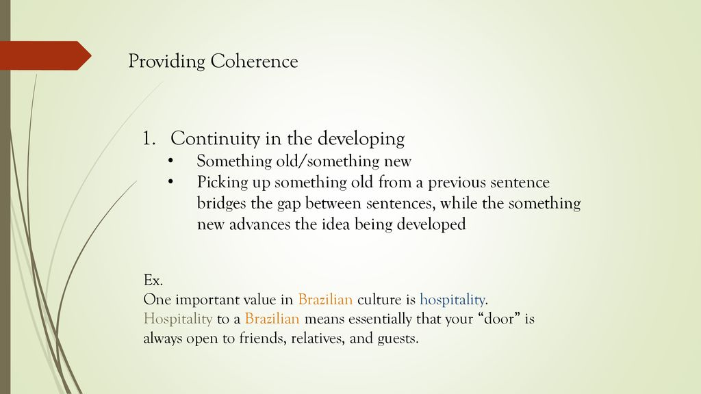 Transitions and Coherence - ppt download