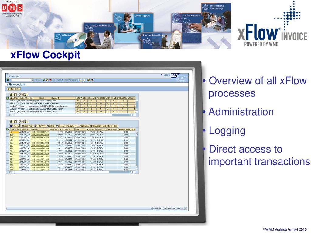 WMD Archiving Workflow Data Capturing  - ppt download