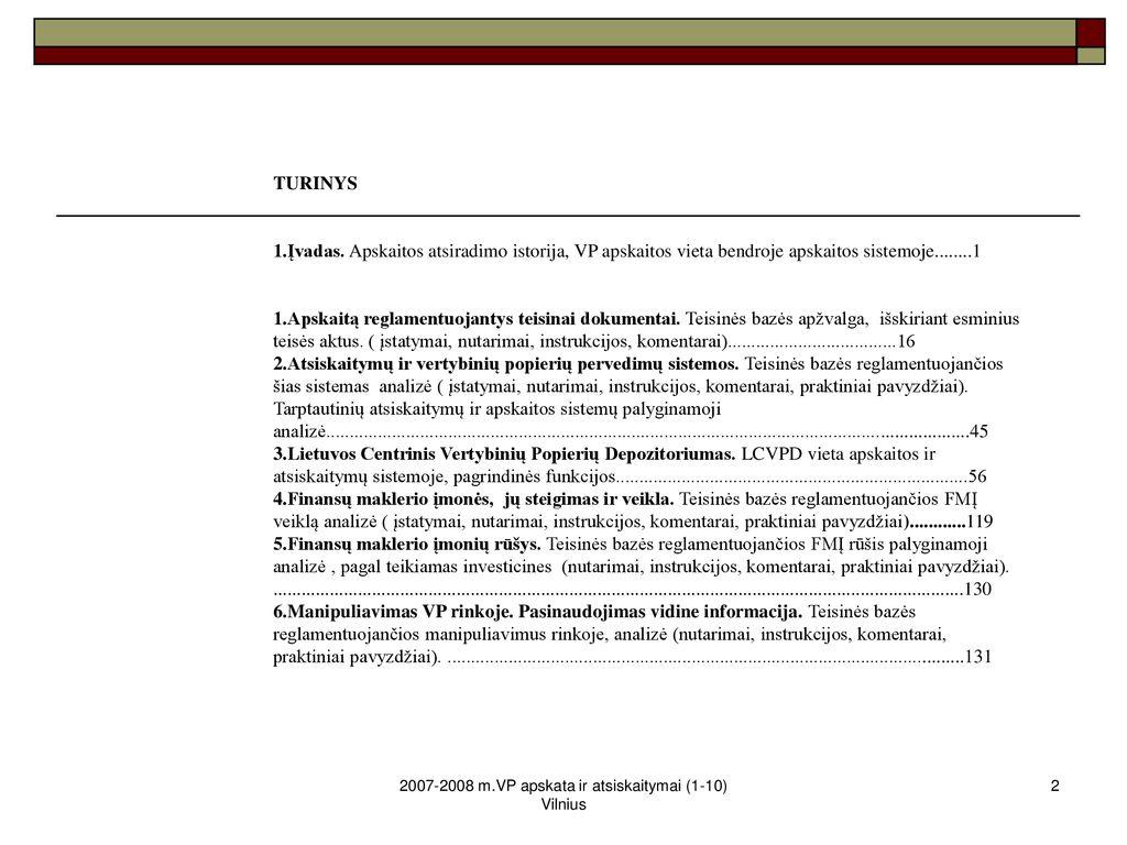 paaiškinti prekybos ir atsiskaitymo sistemą vertybinių popierių biržose