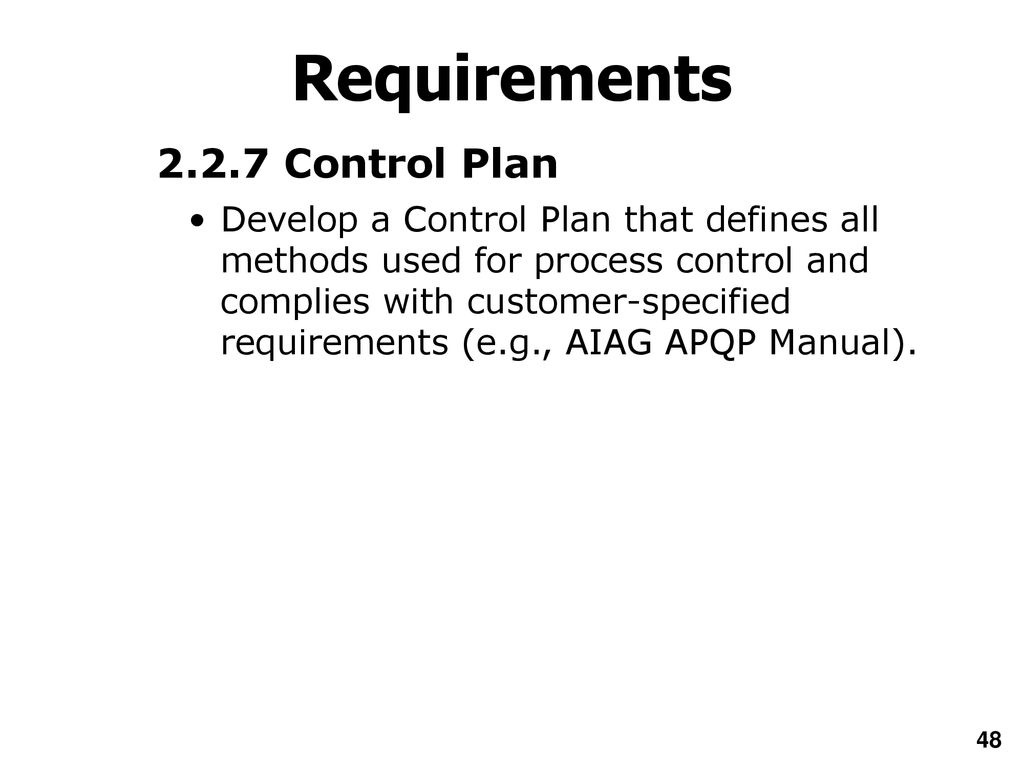 Aiag Apqp Manual 2th Edition Maytag Atlantis Washer Diagram Wiring Diagrams What Are The Overhead Array Introduction To Ppap 4th Ppt Download Rh Slideplayer Com