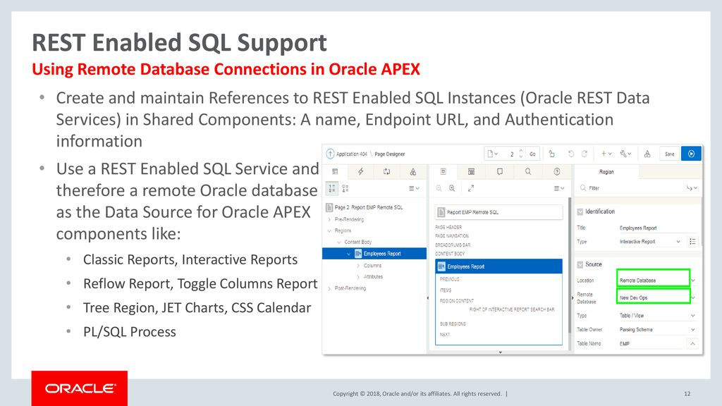 Oracle APEX 18 1 New Features - ppt download