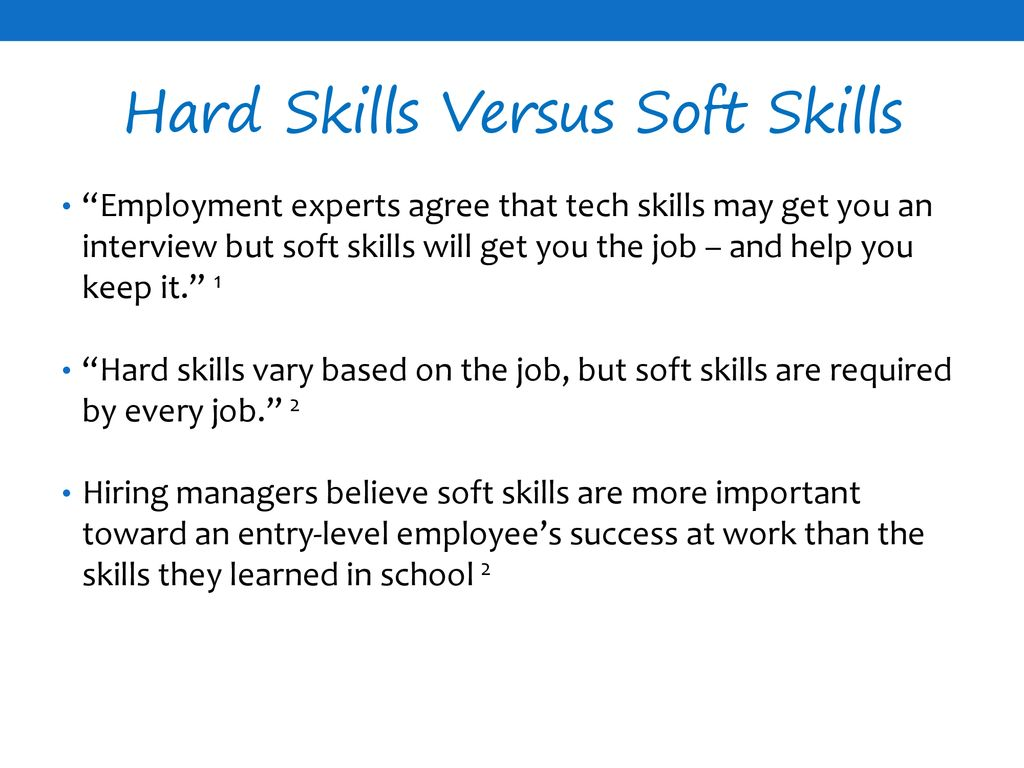 Soft Skills The Ticket To Employability Ppt Download