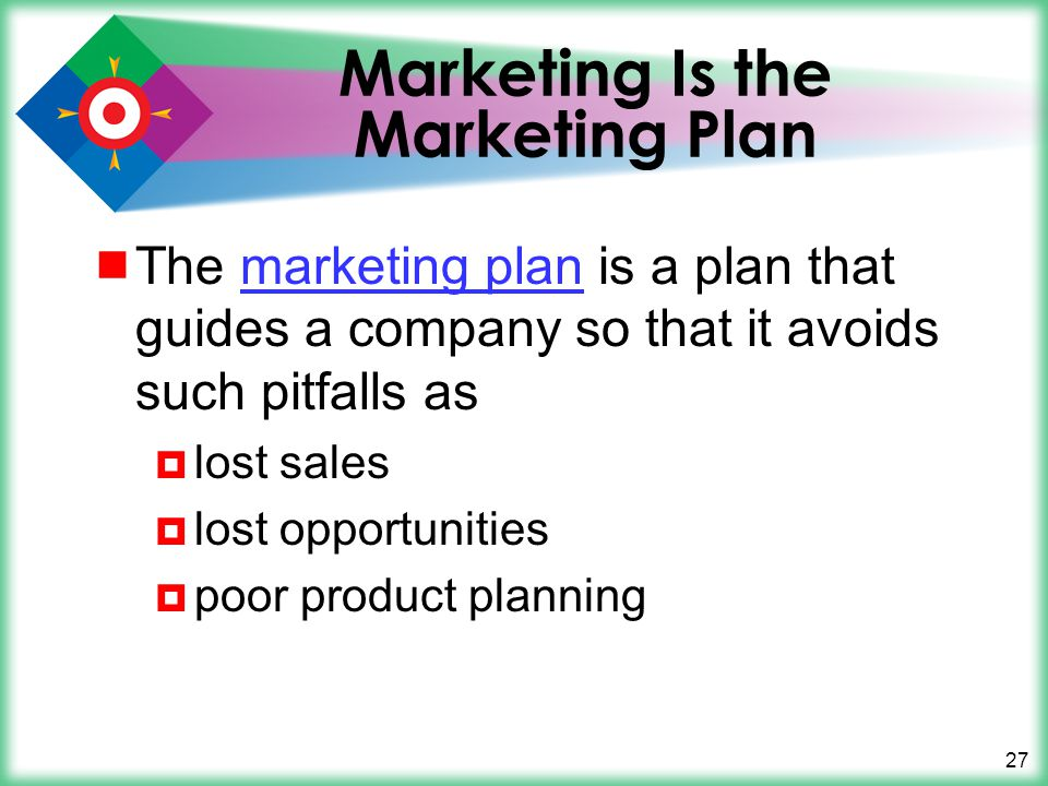 Marketing Is the Marketing Plan