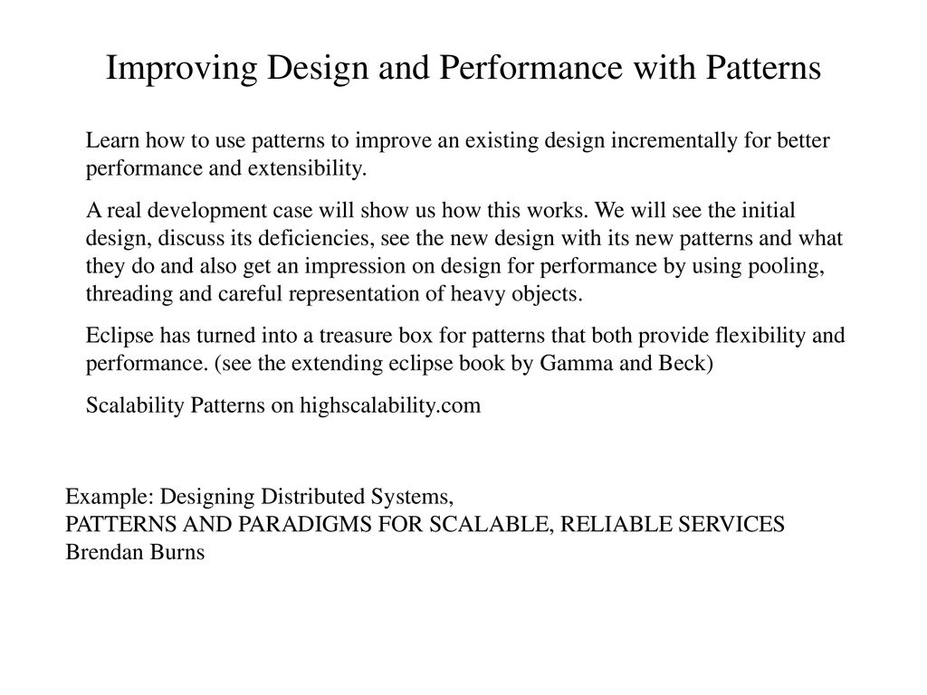 Design Patterns And Architectural Solutions Ppt Download