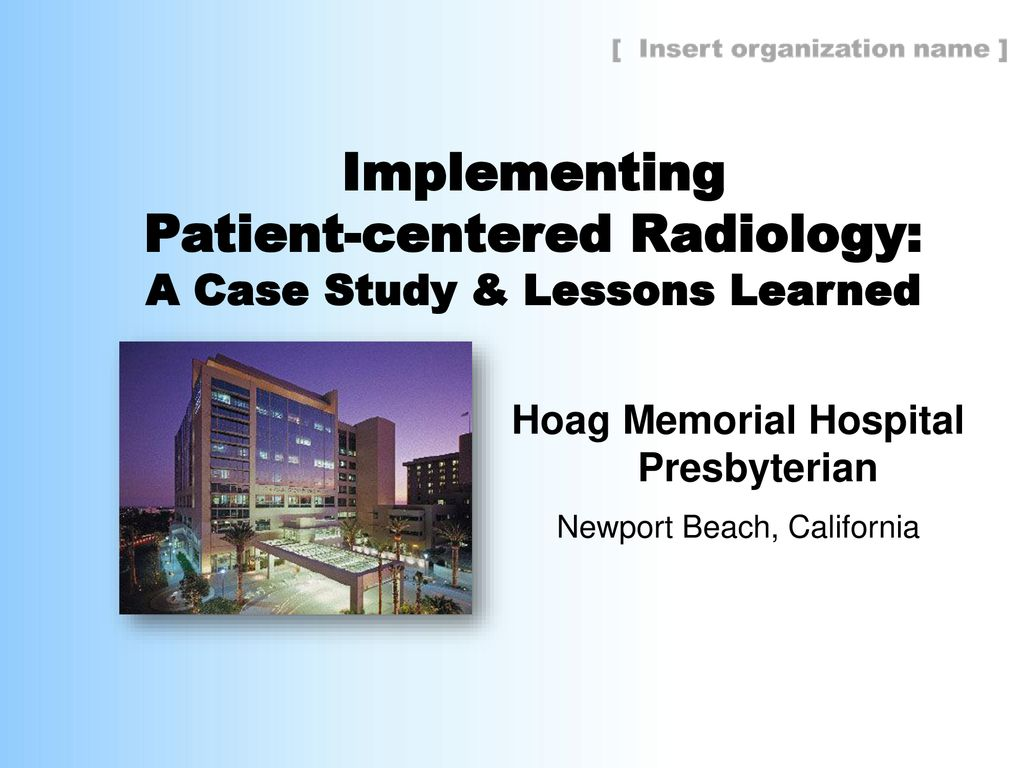 Patient-centered Radiology - ppt download