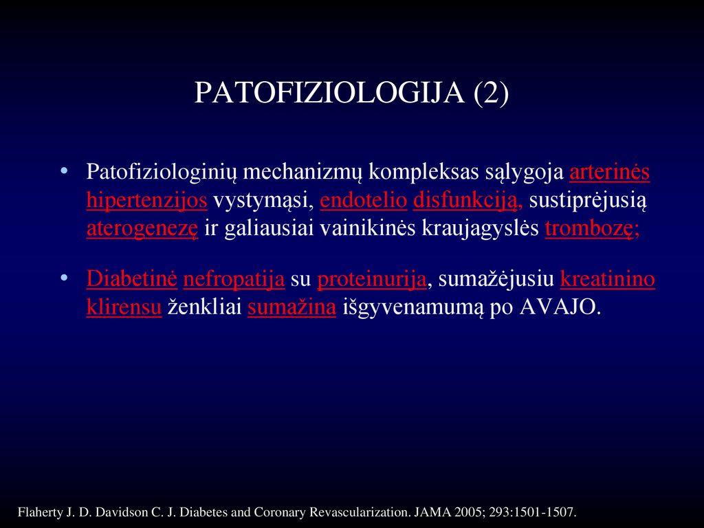 hipertenzijos progresavimas)