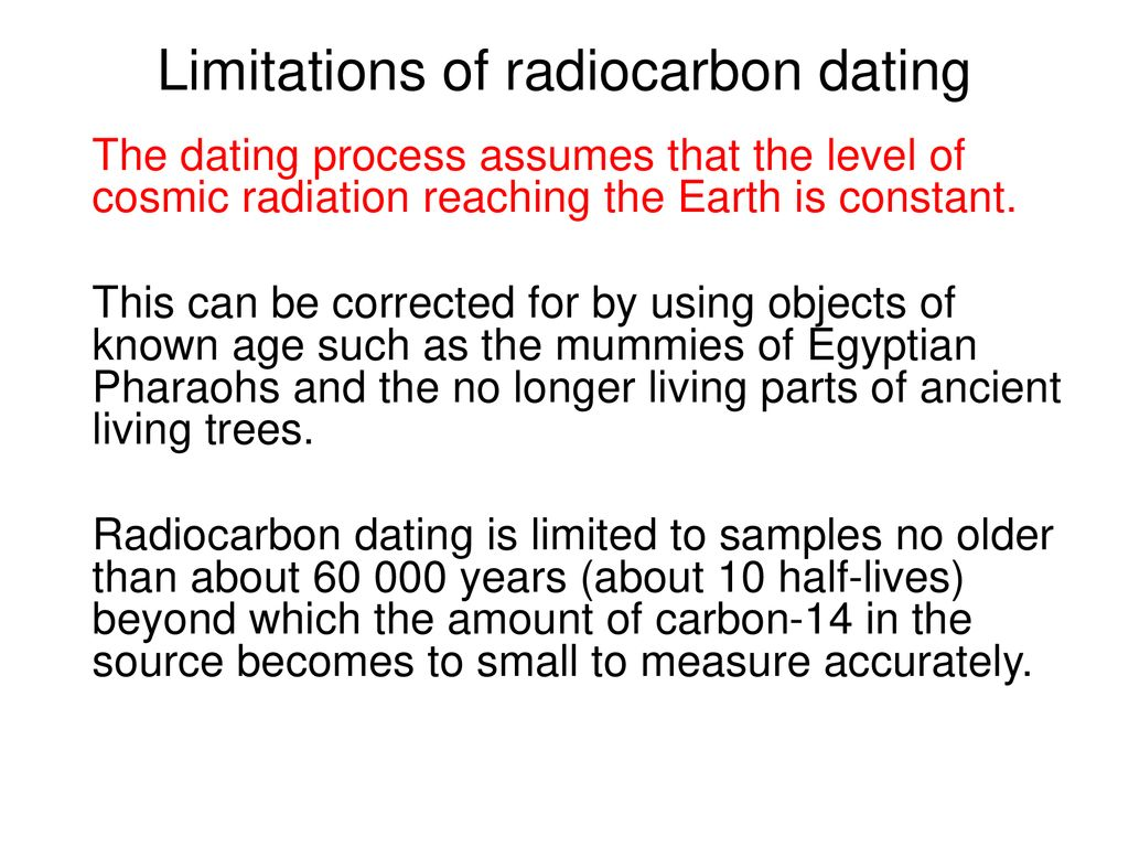Limitations of carbon dating online dating sites for people with stds