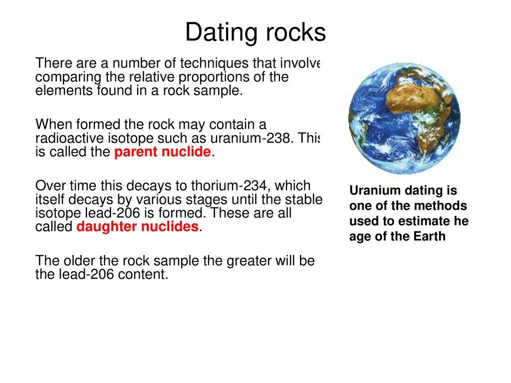 Dating Rocks GCSE qu'est-ce que cela signifie quand vous rêvez de sortir avec quelqu'un que vous aimez