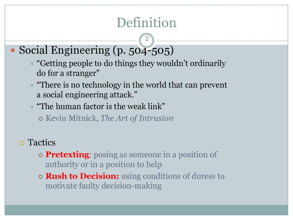social engineering: hide the kids! - ppt download