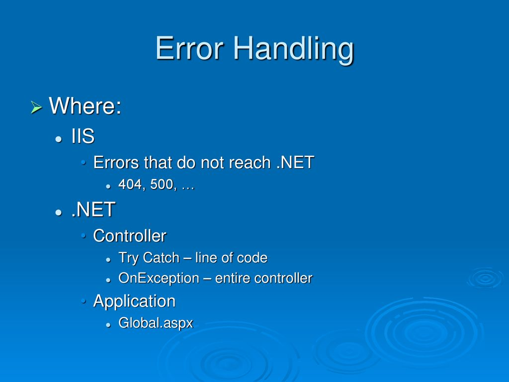 Exception Handling  NET MVC - ppt download