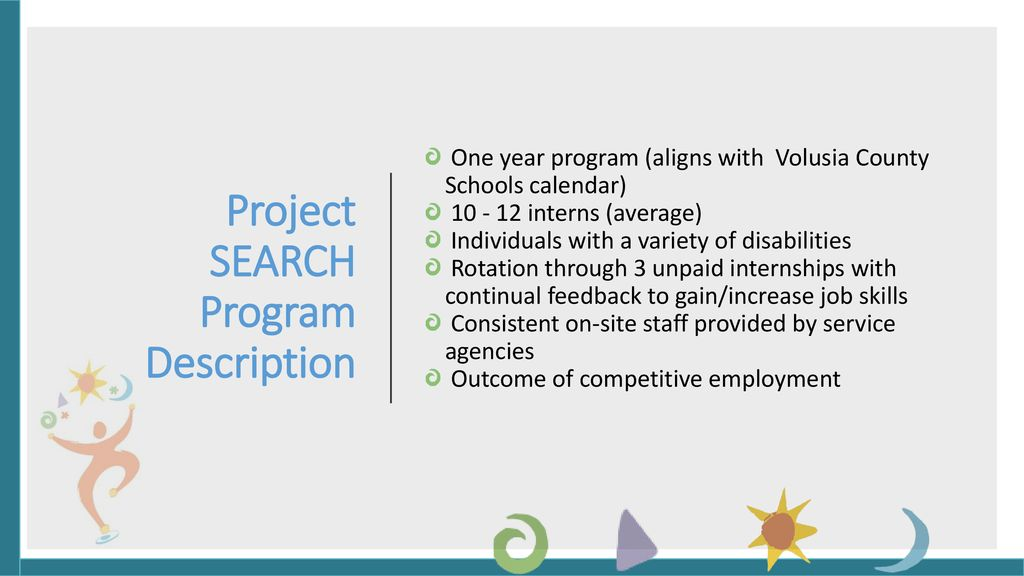 Project SEARCH Volusia County Ppt Download