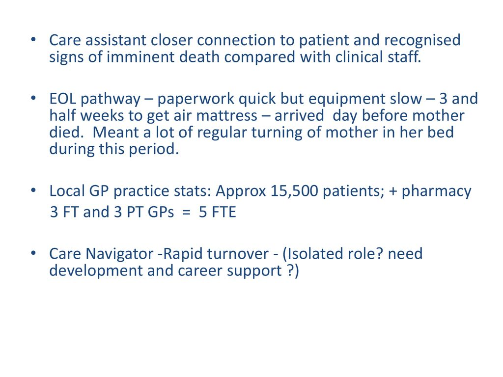 Invisible work of a non-professional carer - ppt download