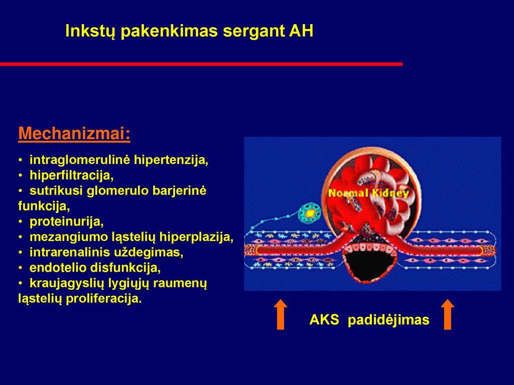 hipertenzijos pasekmės 3 laipsniai)