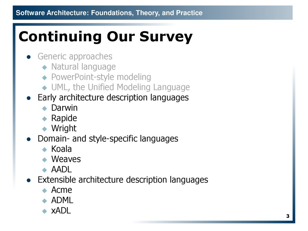 Architecture Modeling Notations - ppt download