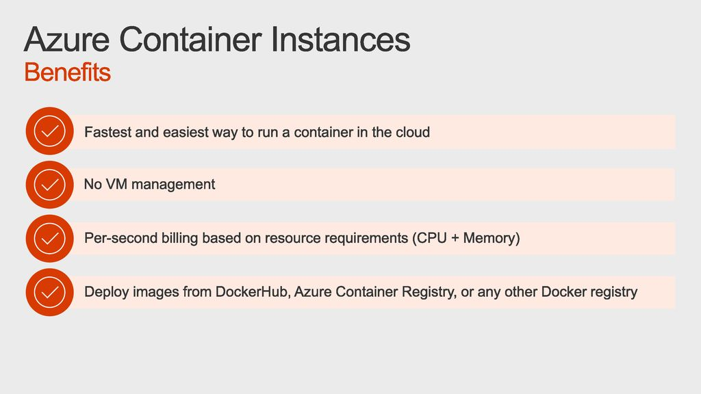 Azure Container Instances - ppt download
