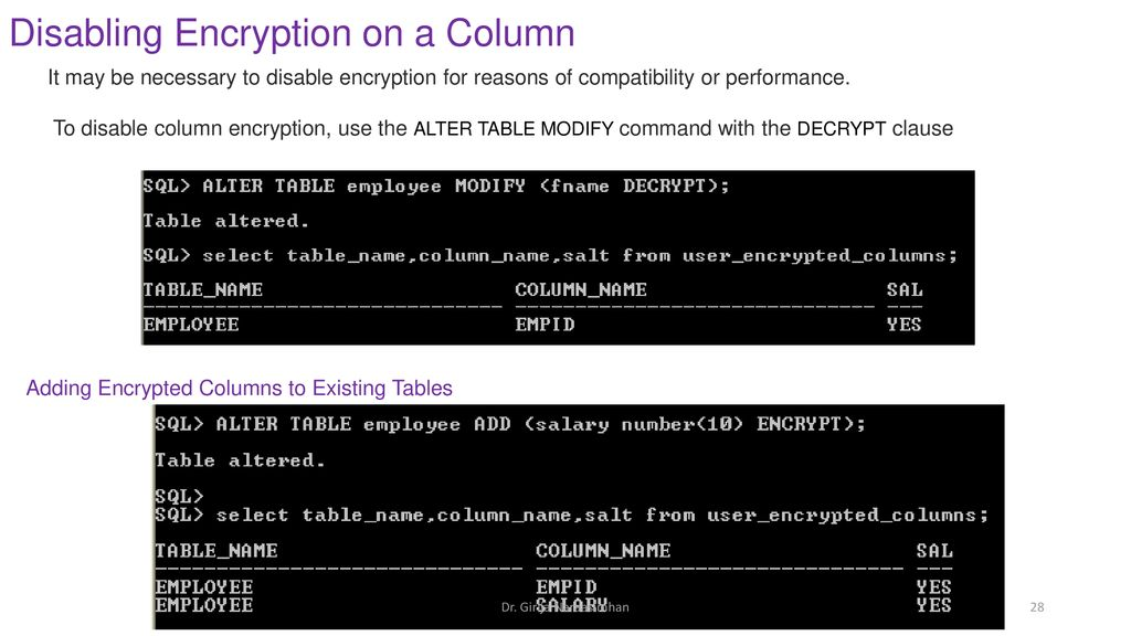 Transparent Data Encryption (TDE) - ppt download