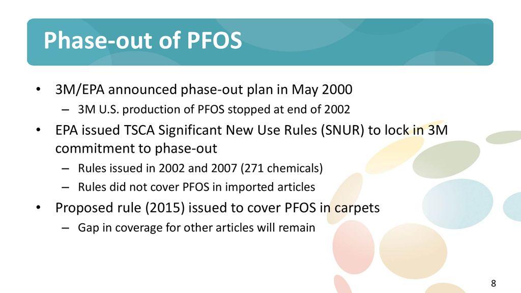 Alternative Fluorochemistries to PFOS, PFOA & other PFAS
