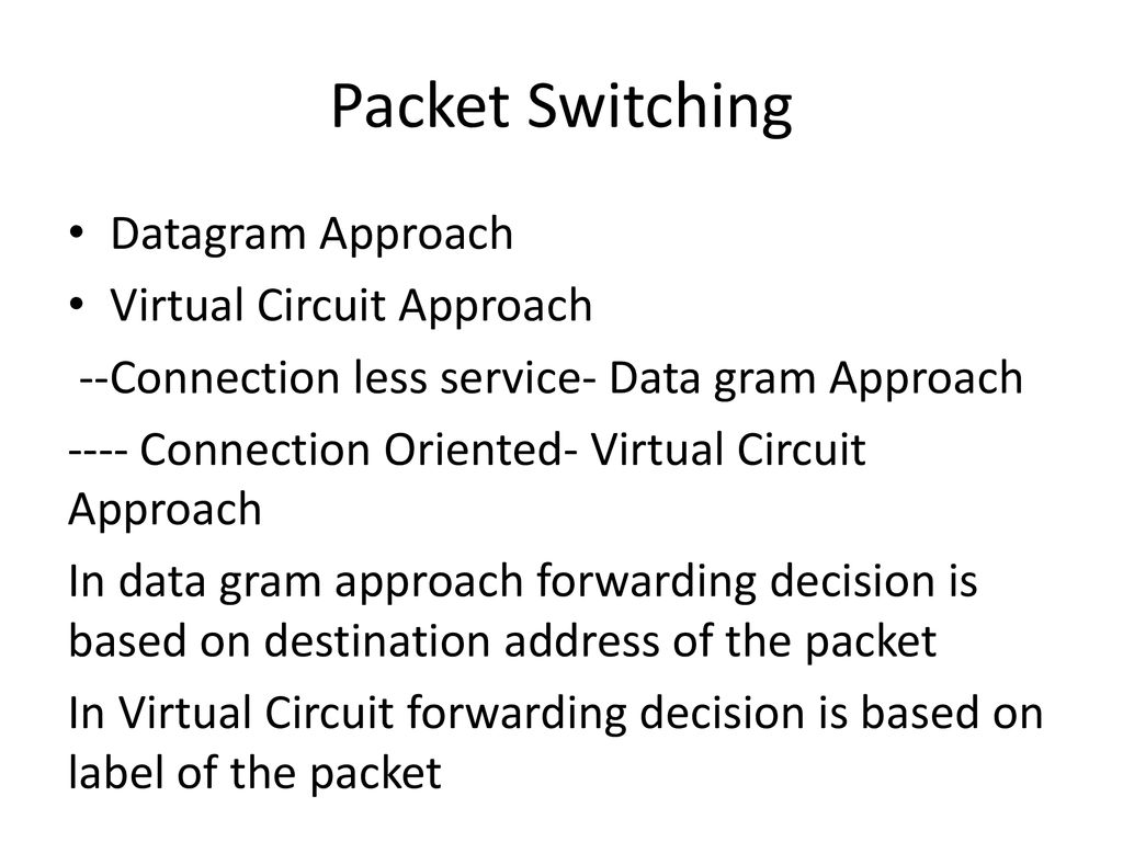 Network Layer Functions Ppt Download Virtualcircuit Packet Switching Datagram Approach Virtual Circuit