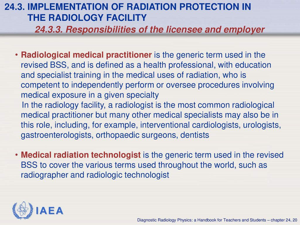 Chapter 24: Radiation Protection - ppt download