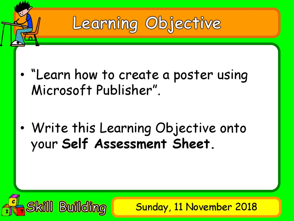 Creating a Poster  - ppt download