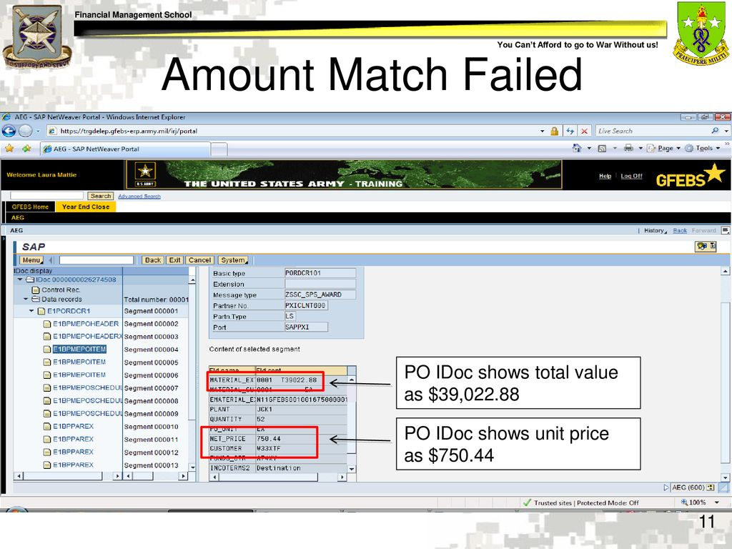 Prepare Monthly Intermediate Documents (IDoc) Error Reports