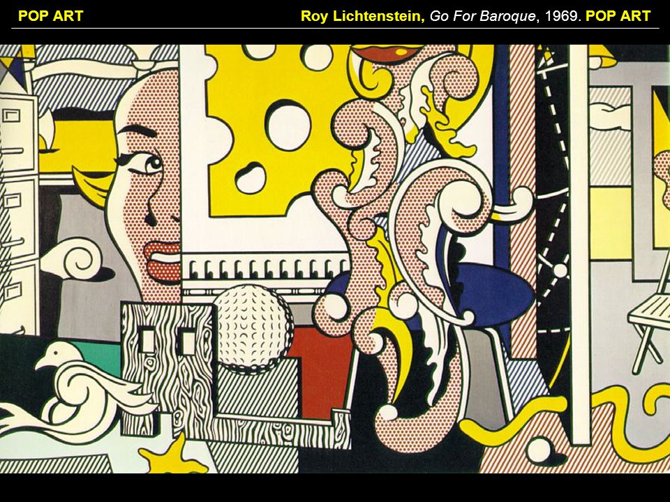 Roy Lichtenstein, Go For Baroque, POP ART