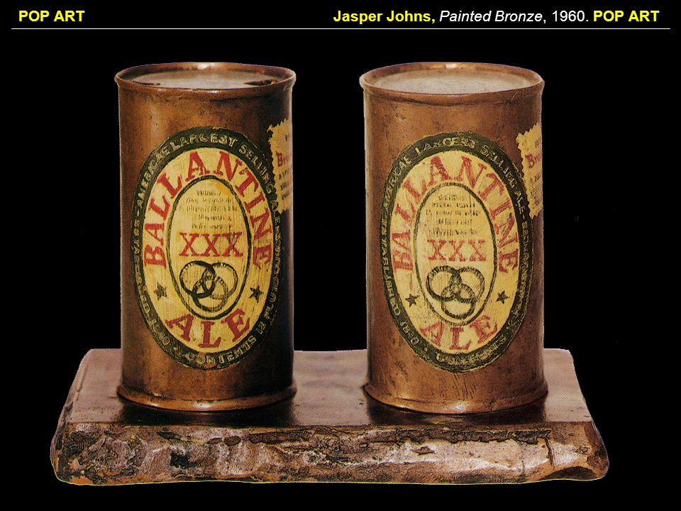 Jasper Johns, Painted Bronze, POP ART