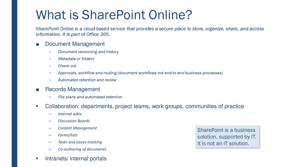 SharePoint Online: Getting Started - ppt download