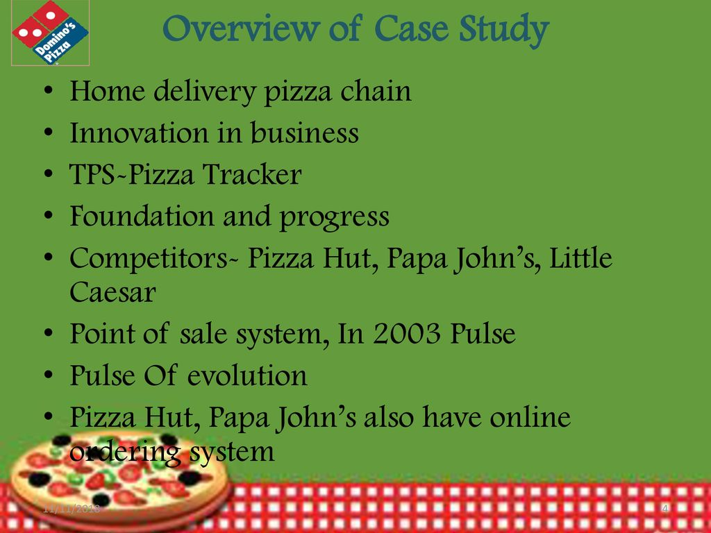 domino pizza online ordering system