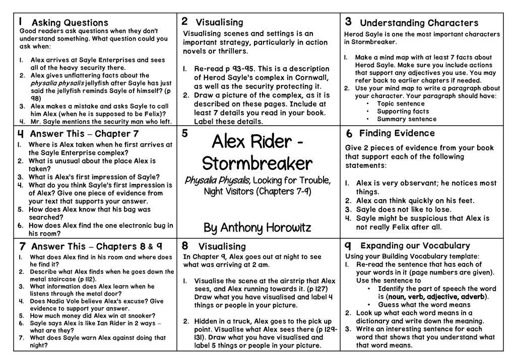 Alex Rider - Stormbreaker - ppt download