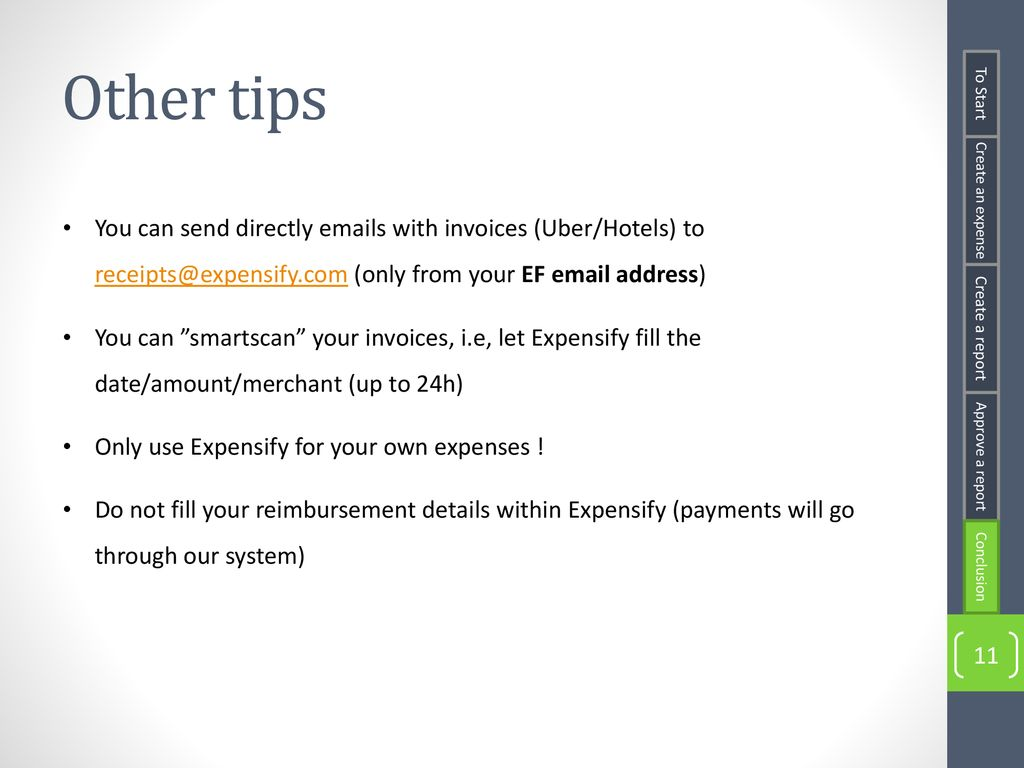 Expensify Cheat Sheet  - ppt download